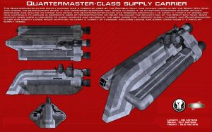 Quartermaster-class supply carrier ortho [New] by unusualsuspex