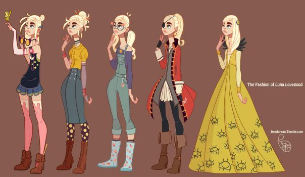 Fan Art - Luna Lovegood by MeoMai
