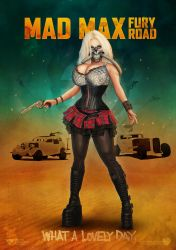 Immortan Joe female cosplay poster by redfill