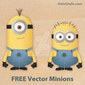 Vector Minions from Despicable Me by halegrafx