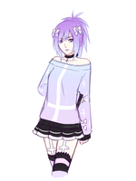 Lavender Outfit Ref by Sealkittyy