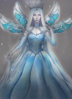 Snowqueen/ January by Castonia