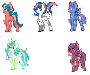Open MLP Adopts by SpaazleDazzle