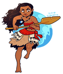 COMMISSION: Moana by Cubesona