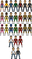 Power Rangers Zeo Alternate by SpiderTrekfan616