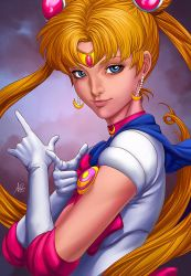 Sailermoon Lineart Public By Artgerm Colors by blewh