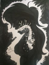 Inktober 2018: Poisonous by CrimsonGlow