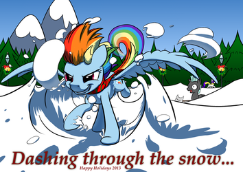 Dashing through the snow... by NadnerbD