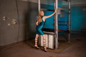 Cow restrain cage 03 by GuldorPhotography