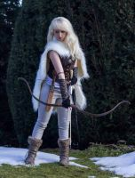 Thaya princess of the wolves - Stock reference by Liancary-art