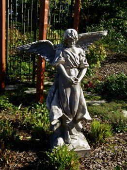 Angel Statue II by Baq-Stock