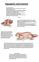 Realistic Pokedex. Entries 263, 264 by wietse110