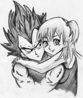 Vegeta And Bulma by frafru