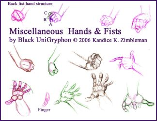 Misc Heplful comic book hands by BlackUniGryphon