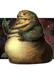Jabba the Hutt by thesilvabrothers