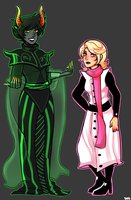 Homestuck: Ancestors by LuciferianRising