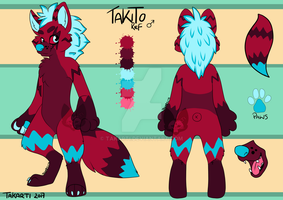 Takito Ref sheet by Takarti