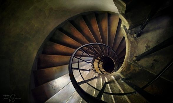 Spiral Stairs by Pajunen