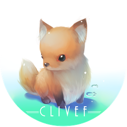 Badge Small Fox by christon-clivef