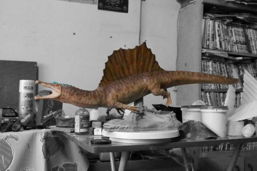 Spinosaurus 1:20 color test 3 by TumTist