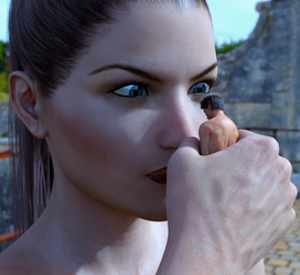 Stern Look - Mini-Animation by Flagg3D