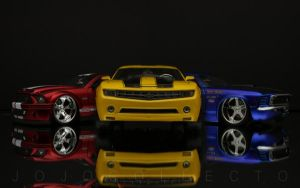 Red, Yellow and Blue by jojocollecto