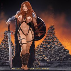 Red Sonja by FransMensinkArtist