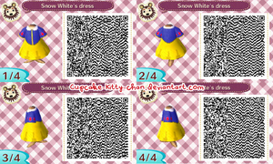 QR Code: Snow White's Dress by Sugary-Stardust