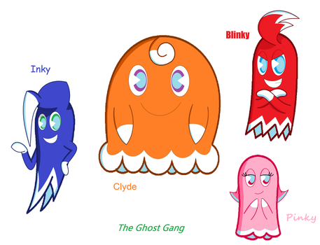 Ghost Gang by SweetiePie17