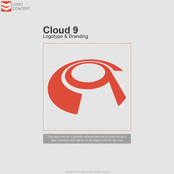 Cloud 9 Logo by LogoConcept
