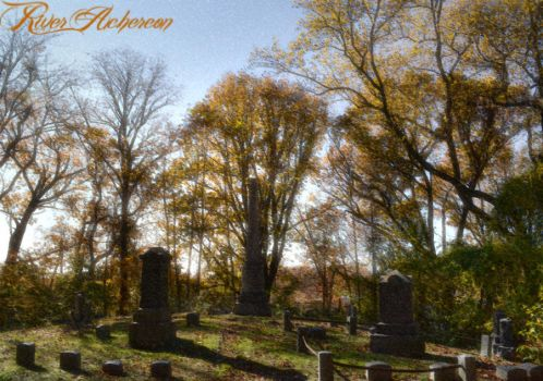Crypt in Autumn's Dawning by River-Acheron