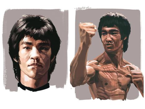 I am Bruce Lee by lehuss