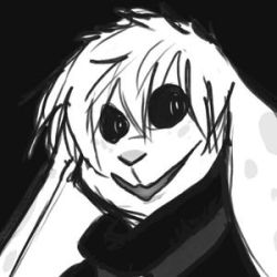 A poorly done gif of a crazy bun by risky