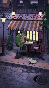french frog by mendigo-amigo