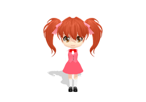 Chibi Aki :DOWNLOAD: by xMMDPandux