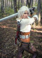 Ciri cosplay by jellyxbat