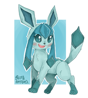 Glaceon by superlucky13