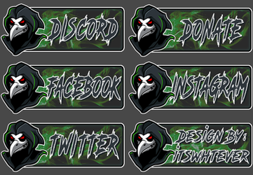 Hengus Twitch Panels by itswhtever