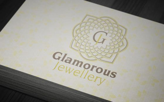 Glamorous Jewelry Gallery Business Card by mmounirf