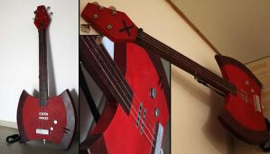 Marceline's Axe-Bass by DavaDs