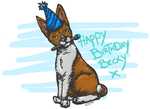 Basenji Birthday picture by stardevampire