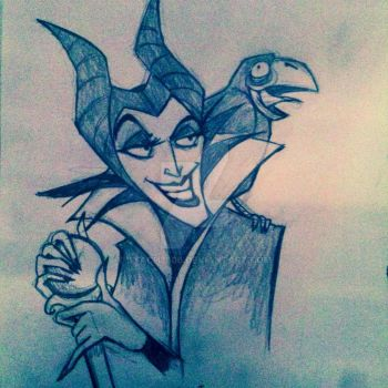Maleficent by STACH2606