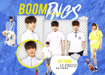 TAEYONG PNG PACK #1| NCT by Upwishcolorssx