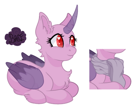 MLP Base #9 : Cute pony by DinkyDooLove