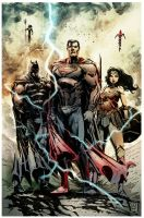 Justice League by Fpeniche