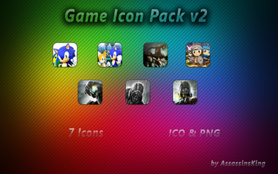 Game Icon Pack v2 by AssassinsKing