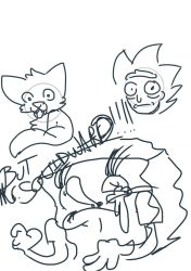 some terrible examples of my arting by livingtroll