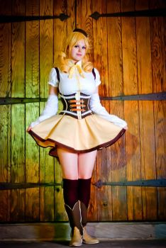 Mami Tomoe - Always Alone by Flaming-Goddess