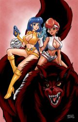 Dirty Pair by JessicaSafron