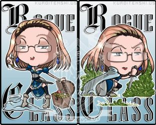 Commission Badge Rogue Alexis by kuroitenshi13
